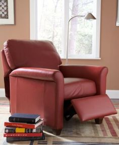 Pavia Leather Club Recliner Chair - Furniture - Macyu0027s & Pavia Leather Club Pushback Recliner | Recliner Living rooms and ... islam-shia.org