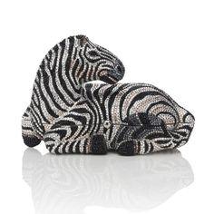 Judith Leiber Zebra handbag