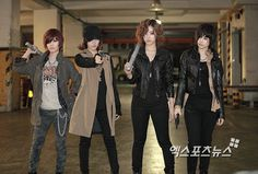 T-ara at the making of their Drama Music Video for 'Cry Cry' from ~ T-ara World ~ 티아라