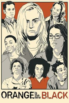 Orange is the new black fan art