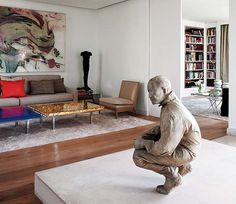 Dale protagonismo   QuiereTeBien Cómo crear rincones especiales #post #escultura #salón #decoración http://www.quieretebien.com/actualidad/%1Bdecoraci%C3%B3n/dale-protagonismo