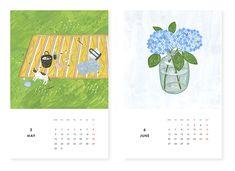北欧、暮らしの道具店 | KURASHI&Trips PUBLISHING/カレンダー(2016) | 北欧雑貨や北欧食器を中心にご紹介する通販サイトです