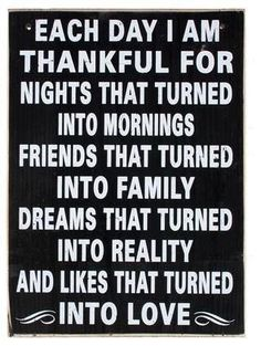 Thankful... for everything