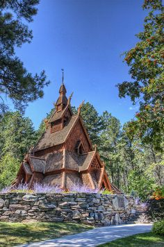 Chapel in the Hills, we were going to be married here but the weather didn't suit for when we were married.  @Visit Rapid City
