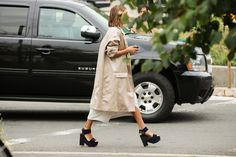 30 Pairs Of Shoes We're Seriously Obsessed With #refinery29  http://www.refinery29.com/2014/09/74258/fall-fashion-week-shoes-2014#slide14  Chunky and minimalist are the name of the game with these attention-grabbing platforms.