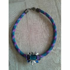 #jewelry #jewels #bijoux #necklace #fashion #handmade #cat #funny    An item from Etsy.com: I added this item to Fashiolista