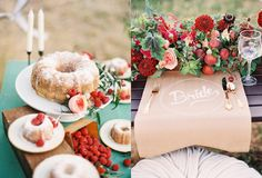 Wedding Wednesday: A Simply Berry Day / Ruche Blog