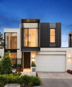 curb appeal minimalist house designmodern - Contemporary Modern Home Designs