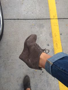 Eeks!  I love these booties!  It's like walking around in your Nikes...so comfortable!