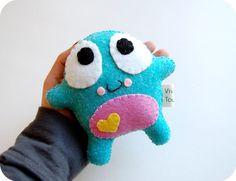 Poko Eco Friendly Plush Toy by vivikas on Etsy, $16.00