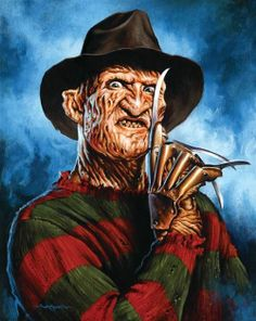 Freddy Krueger by Jason Edmiston Robert Englund, Jason Edmiston, Jason Voorhees, Freddy Krueger, Freddy Horror, Creepy Guy, Creepy Things, Creepy Stuff, Famous Monsters