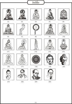 Hindu Logos Wedding Symbols, Hindu Wedding Cards, Wedding Logos, Wedding Invitations, Buddha Logo, Buddha Tattoo Design, Buddha Drawing, Wedding Background Images, Hindu Symbols