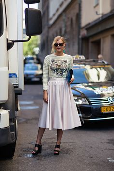 pay that skirt/Kenzo situ Nathalie. Stockholm.