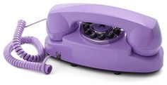 Style Hotline Phone in Violet by Streamline - Purple, Solid, Spring, Summer… Vintage Phones, Vintage Telephone, Vintage Cameras, Lavender Aesthetic, Purple Aesthetic, Pastel Purple, Shades Of Purple, Purple Swag, Periwinkle