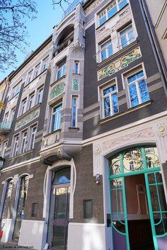 Boticario Art Nouveau a Franz-Joseph-Strasse 19 en Múnich