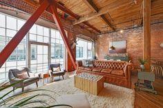 South Park Home By Melissa Winn Interiors | HomeAdore Mezzanine, Modern  Industrial, Industrial Design