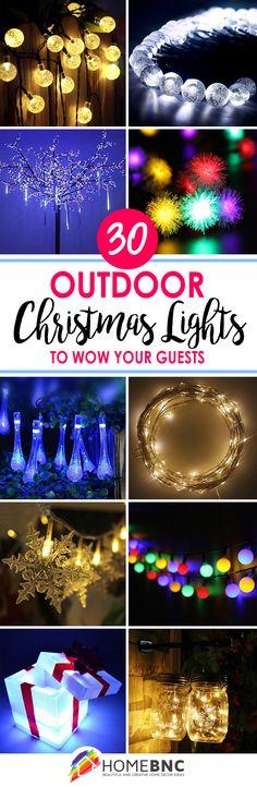 Outside Christmas Light Decorations