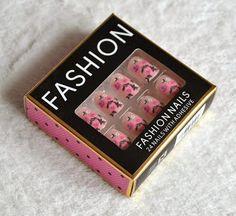 Primark Nails  #primark #nails #fakenails #nailart #cheap #nail #fashion #pretty #primarknails #pink #floral #spring