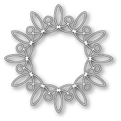 """Whirligig Circle - $14.99 The Whirligig Circle can work well on holiday cards or cards for other occasions as well! Size  3.8"""" x 3.8"""". Works with   Grand Snow Globe ."""