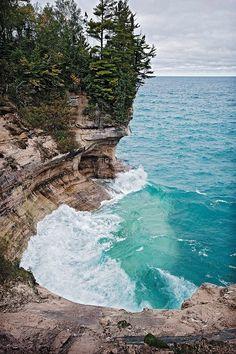 Pictured Rocks, Munising UP Michigan.