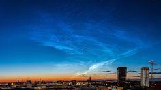 Noctilucent clouds #sweden #stockholm @harmsfotografie