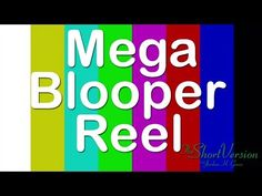 Haven't done a #blooper reel in a while - so we did a MEGA BLOOPER REEL! Watch these #outtakes: