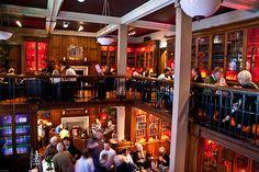 Teviot's Library Bar...University of Edinburgh campus