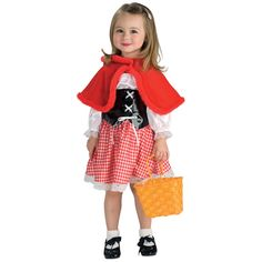 Little Red Riding Hood Costume (4-6T)