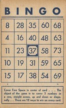 Free Bingo Cards Via Sweetly Scrapped