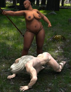 Long-haired Slave 7 by Ehrlik