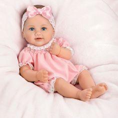 Cute Baby Dolls, Cute Babies, Aston Drake, Wiedergeborene Babys, Silicone Reborn Babies, Reborn Baby Girl, Pink, Baby Dolls, Bebe