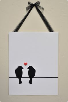From the Silhouette blog...would love to do something similar in the nursery with owls
