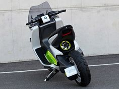 BMW motorrad electric scooter