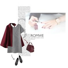 Romwe Contrast Lapel Houndstooth Print Dress by townili on Polyvore featuring H&M and D&G Latest Street Fashion, Dress P, Houndstooth, Romwe, Fashion Online, Contrast, Street Style, Polyvore, Urban Style