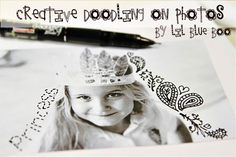 the lil journal project Archives - Ashley Hackshaw / Lil Blue Boo Inspiration For Kids, Creative Inspiration, Doodle On Photo, Project Life Layouts, Drawing Journal, Art Journal Techniques, Scrapbook Paper, Scrapbooking, Photo Displays