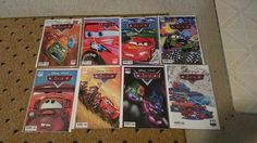 Disney-Pixar CARS Comic books (Complete Set of 8) This is a collection of Disney-Pixar CARS Comic books. All 8 issues were published by BOOM Kids! They are all in plastic and have a cardboard protector and are Nr-Mint. | eBay!