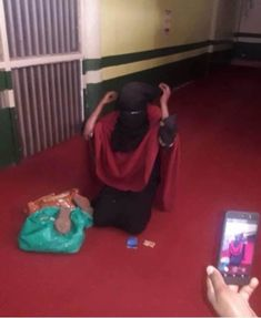 A Christian girl who had the nerve to disguise herself in a hijab to steal  has been nabbed in the act. A young lady who was later identified as a  Christian ...