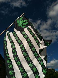 Marijuana Flag - Boston Freedom Rally