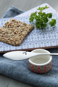Stylish Butter knife is stainless steel and made by Latimeria Design in Finland. It suits nicely with VAJA Finland bread plates. Butter Knife, Scandinavian Style, Finland, Bread, Plates, Dining, Tableware, Stainless Steel, Suits