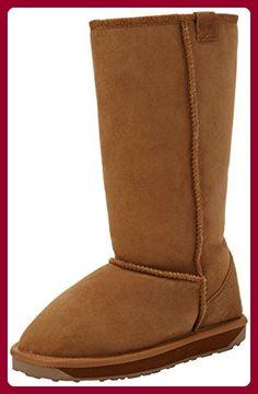 Emu Stinger Hi, Damen Bootsschuhe, Beige (Chestnut), 35/36 EU (3 Damen UK) - Stiefel für frauen (*Partner-Link)