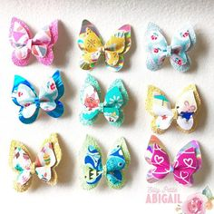 Items similar to Butterfly Clip, Butterfly Bow, Summer collection on Etsy Different Feelings, Glitter Background, Summer Collection, Summer Time, Safety, Metallic, Hair Accessories, Butterfly, Range