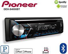Pioneer MVH AV290BT 2 DIN Car Digital Media Rcvr iPhone USB Bluetooth Pandora