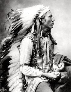 John Comes Again. Lakota. 1899. Photo by Heyn Photo. Source - Denver Public Library.