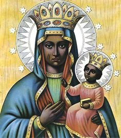 Haiti - 13 Blessed Depictions of Black Madonna from Around the World