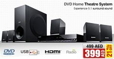 21% OFF on Sony Home Theatre System DAV-TZ140 @ AED 399/- only! Shop NOW ➜ is.gd/dWht3M