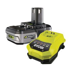 Find Ryobi One+ Li-ion Battery And Charger Starter Kit at Bunnings Warehouse. Visit your local store for the widest range of tools products. Batterie Lithium, Cordless Tools, Starter Kit, Power Tools, Range, Warehouse, Porn, Guns, Products