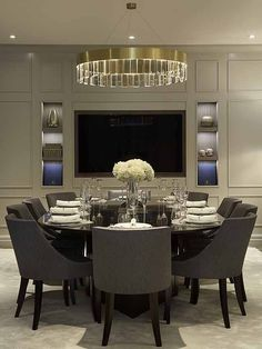 You Must See This Marvelous Dining Room With Luxury Furniture To Help You  Improve Your House