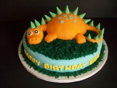 dinosaur cakes | Dinosaur cake