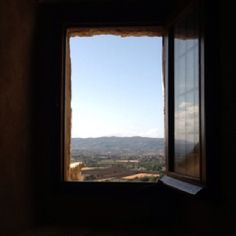 I took this photo with my iPad at the church of San Damiano, Assisi, Italy.