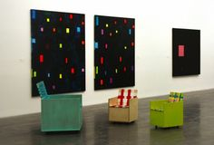 mary heilmann chairs | Mary Heilmann's Clubchairs, Kid-Size, At The New Museum - Daddy Types